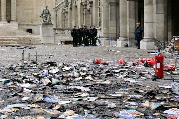 La Sorbonne pendant le CPE