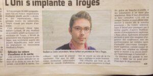 Image L'UNI s'implante à Troyes