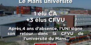 Image L'UNI revient en force à l'université du Mans !