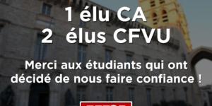Image L'UNI conforte sa positions à l'Université de Montpellier