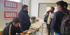 Image L'UNI Toulouse en campagne pour les élections UFR d'UT1