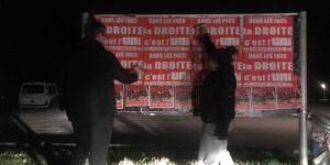 Image Nuit de collage à Grenoble