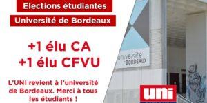 Image L'UNI revient à l'Université de Bordeaux !
