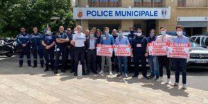 Image L'UNI Aix-Marseille aux côtés de la police