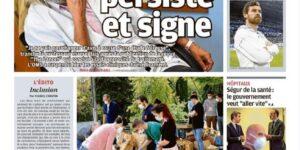 Image Les actions de l'UNI Aix-Marseille en «une» du journal La Provence