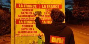 Image A Rouen la France soutient ses forces de l'ordre !