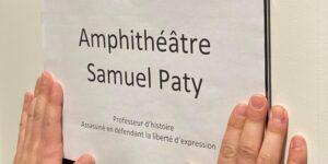 Image Sciences Po Strasbourg : Samuel PATY « cancelled » (effacé) sous prétexte de parité